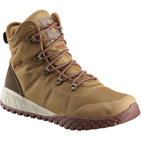 Columbia Fairbanks Omni-Heat Shoes Men elk/deep rust